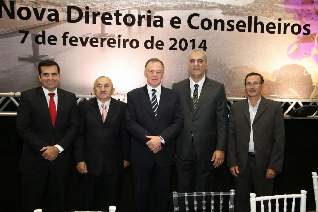 Entre as autoridades estiveram presentes o vice-governador do ES, Givaldo Vieira, o Presidente do CFC, José Martônio Coelho, e o governador do ES, Renato Casagrande