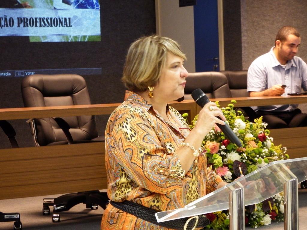 A vice-presidente do CRCES, Cristina Langoni, destaca a importância da atualização.