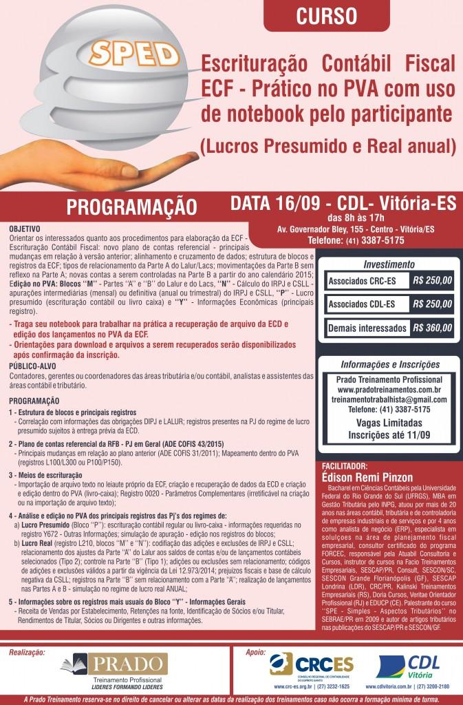 Cartaz - SPED CRC-ES_04SET2015