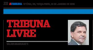 Recorte_Coluna Tribuna Livre_Valdir Massucatti