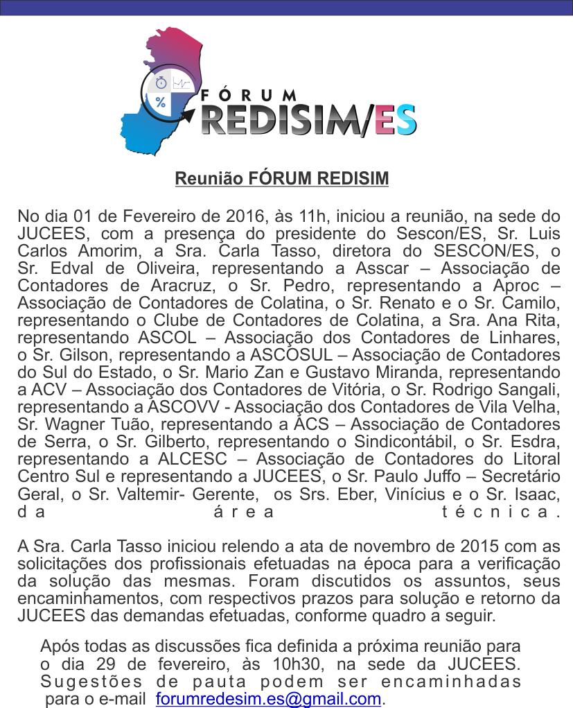 forum rede sim 1