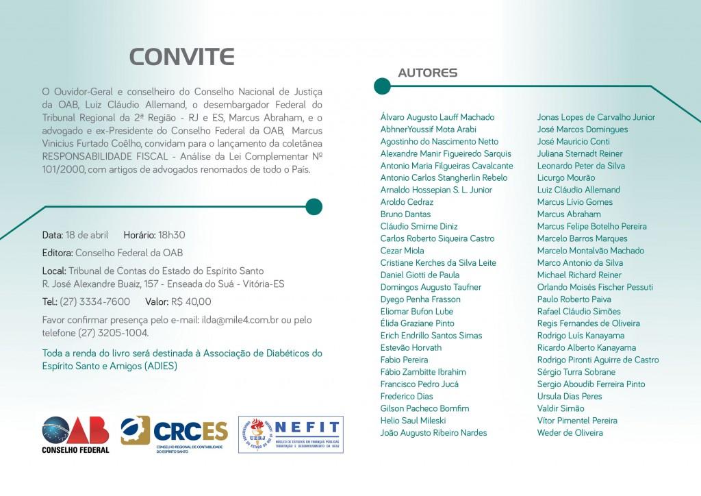 CONVITE_LANÇA_LIVRO_OAB_07Abril16