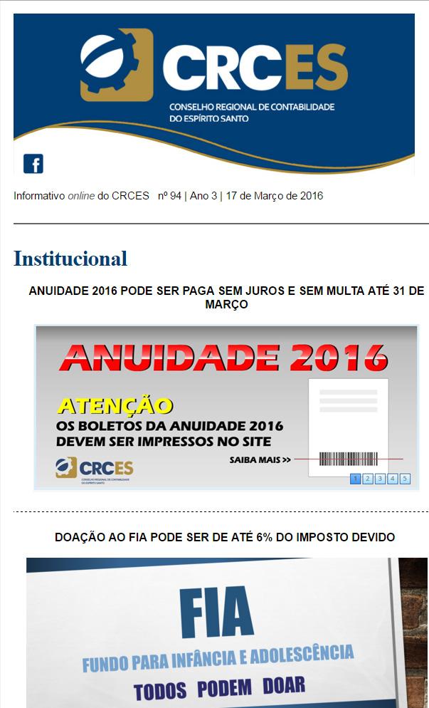 Informativo-Semanal-17-de-Março-de-2016