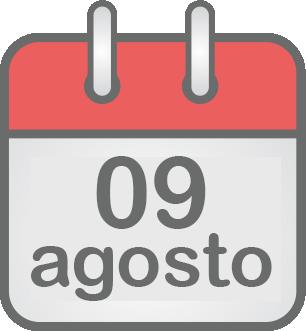 09 de agosto